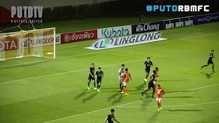 Download Video PUTDTV GOAL Highlight : Thai League 2017 :  Ratchaburi Mitr Phol FC 1 - 0 Pattaya United MP3 3GP MP4