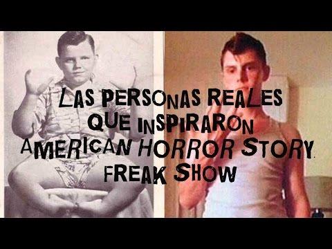 Personas reales que inspiraron AMERICAN HORROR STORY: FREAK SHOW
