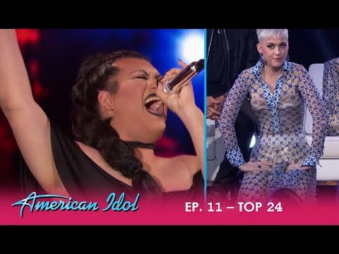 Ada Vox: Drag Queen Brings Katy Perry TO HER KNEES! | American Idol 2018