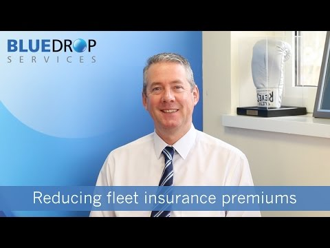 Reducing fleet insurance premiums - Bluedrop Services