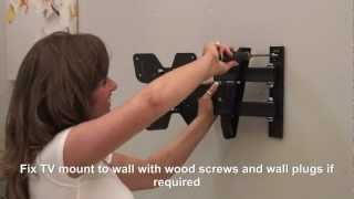 Ross Neo Series - LNTA200 Full Motion Triple Arm TV Wall Mount