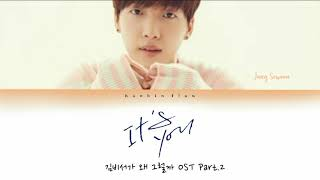 Gambar cover [INDO_SUB] Jung Sewoon (정세운) - 'It's you' Lyrics [Color_Coded_Han_Rom_Indo]