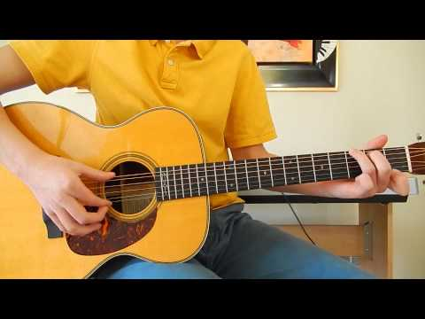 The Beatles - Rocky Raccoon - Guitar Cover