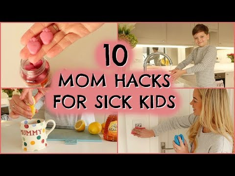 10 MOM HACKS FOR SICK KIDS AD |  HOW TO SUPPORT YOUR KIDS IMMUNE SYSTEM