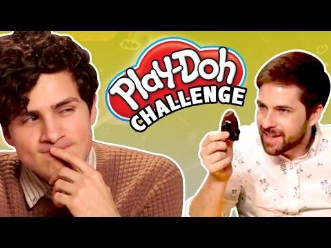 PLAY DOH CHALLENGE! (Smosh is Bored)