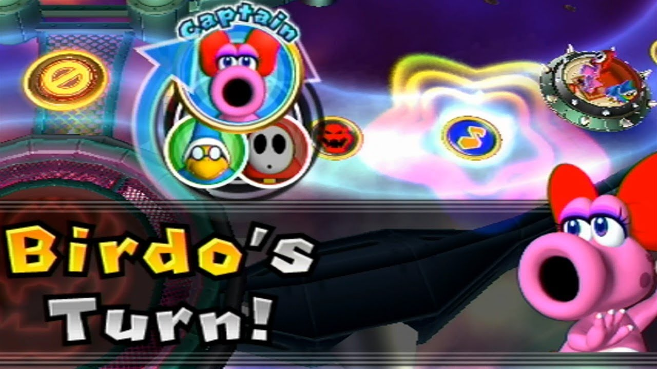 Mario Party 9 Solo Mode 80 Birdo Bowser Station Youtube