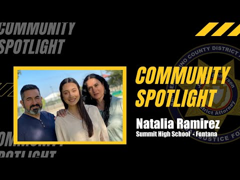 Summit High School Student Is An Example For Others In Fontana