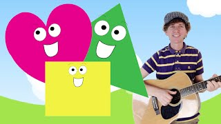 """Shapes and Colors Songs Collection"" 