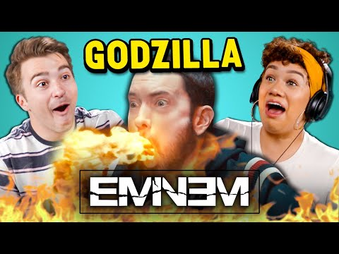 Eminem - Godzilla Ft. Juice WRLD   Adults React