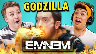 Eminem - Godzilla ft. Juice WRLD | Adults React