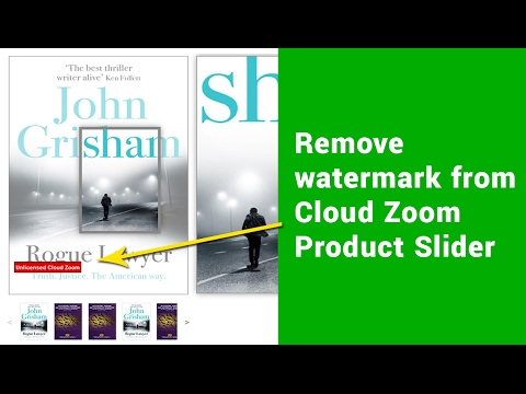 Image zoom hover effect cloudzoom product slider