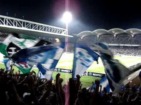 -CL-14.09.2010 Olympique Lyon - F.C. Schalke - Kohle unter uns'ren Fuessen