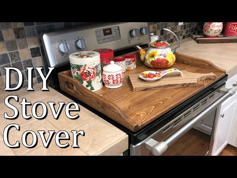 DIY Stove Top Cover for Electric or Gas Stove | Version 2.0