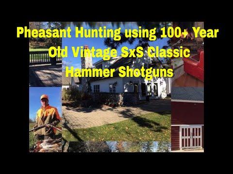 2016 Fall MI Huntsman Hunt Club - Pheasant Hunting Vintage SxS Doubles