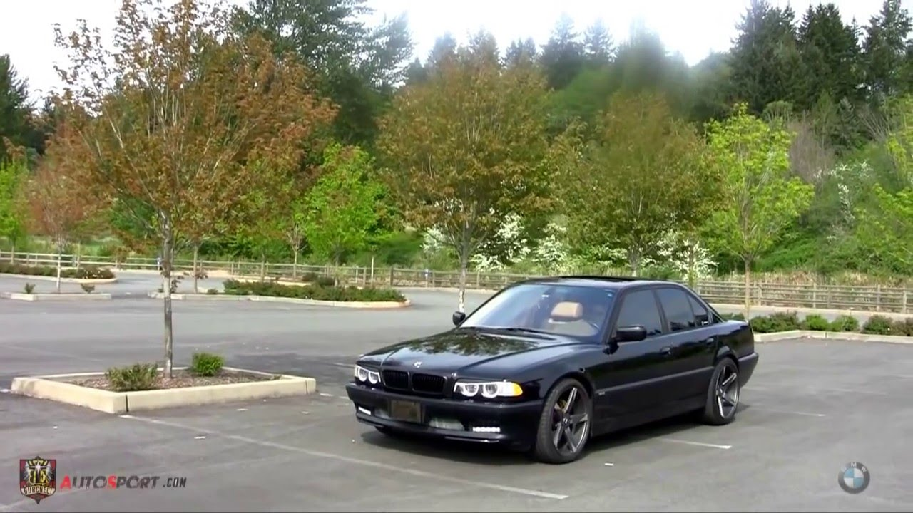 bmw e38 740i youtube. Black Bedroom Furniture Sets. Home Design Ideas