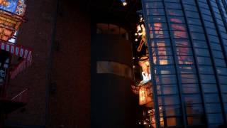 2016年のあおもり10市大祭典in五所川原において立佞武多の館から立佞武...