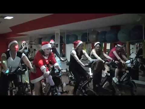Sesion spinning navidad gimnasio c a r ja youtube for Gimnasio jaen