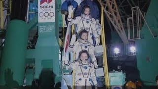 Olympic torch sent into space as part of Sochi 2014 Winter Olympics relay