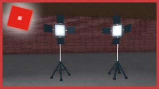 [ROBLOX Speed Build] - Filming Lights
