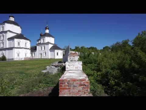 Город Рыльск. В чуть более 100 км от Курска. Монастырь Николая чудотворца.