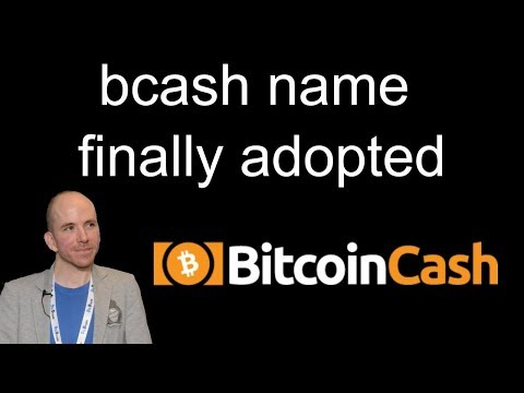 Bcash Name Finally Adopted / Final Goodbye To Tether