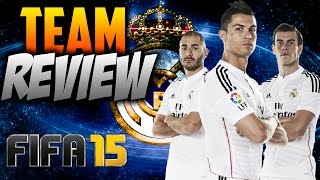 FIFA 15 | HOW TO PLAY WITH REAL MADRID | Team Reviews | Formation/Key Players/Gameplay