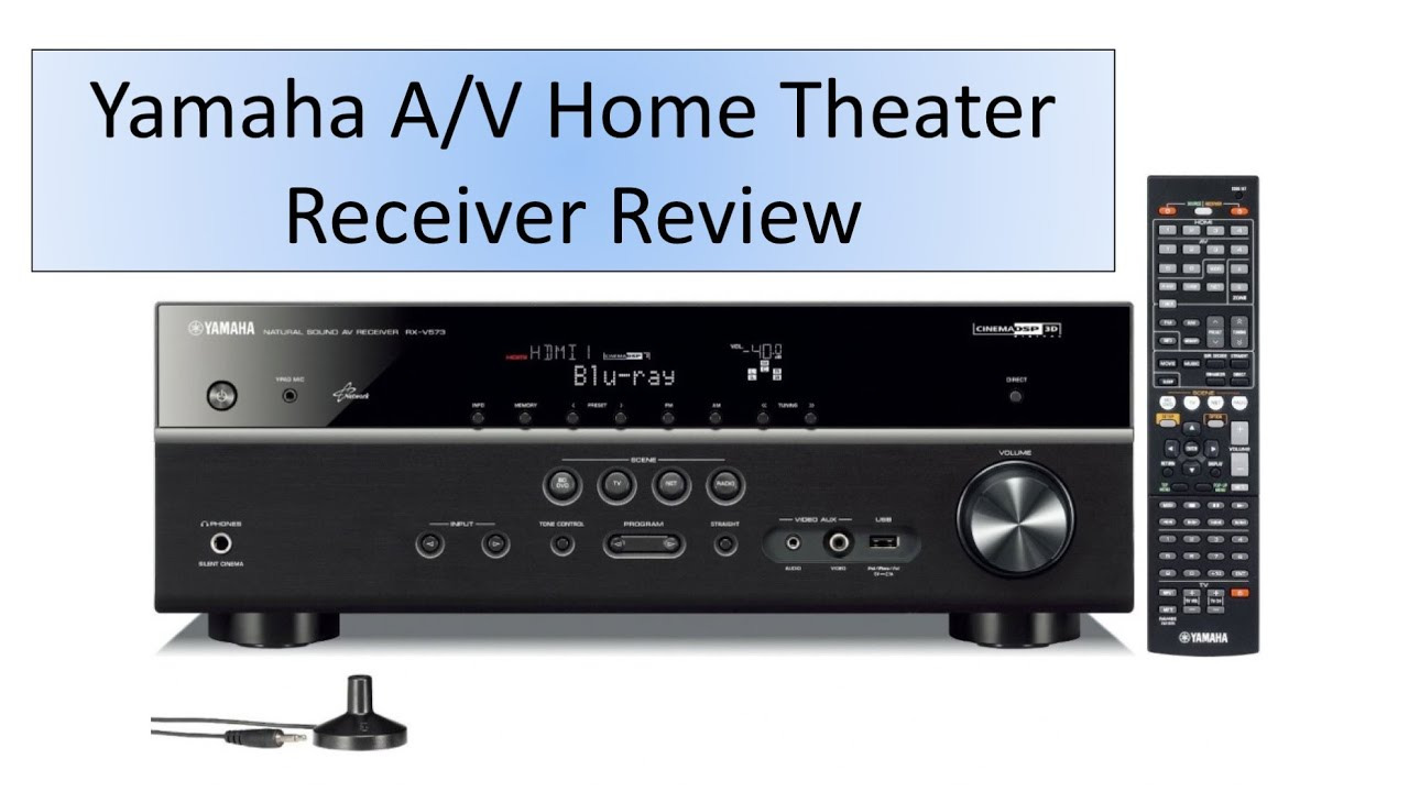 yamaha 5 1 channel a v home theater receiver review youtube. Black Bedroom Furniture Sets. Home Design Ideas