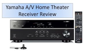 Yamaha 5.1-Channel A/V Home Theater Receiver Review