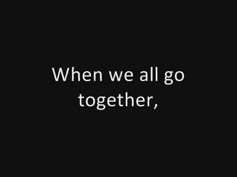 Tom Lehrer: We Will All Go Together When We Go (concert live) (1959)
