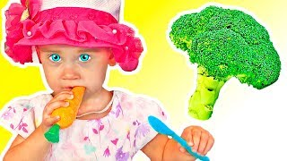 Yes Yes Vegetables Song | Canciones Infantiles | Tamiki Amiki Español