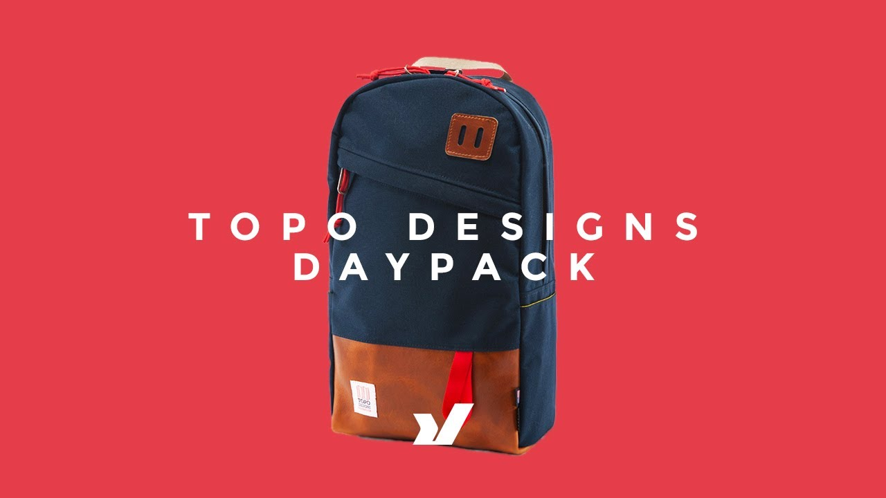 40940fc28 The Topo Designs Daypack Backpack - YouTube