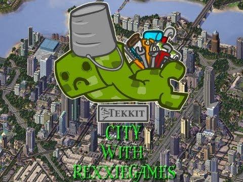 Minecraft - Let's Build - A Tekkit City - Solar Power Plant!