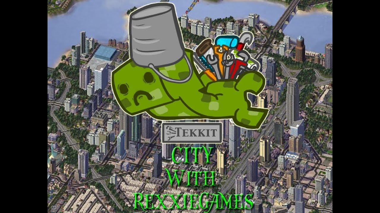 Minecraft Lets Build A Tekkit City Solar Power