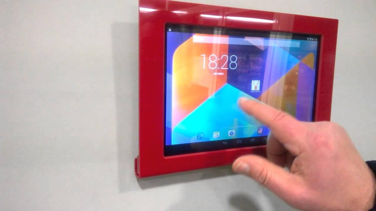 Marco soporte tablet - YouTube