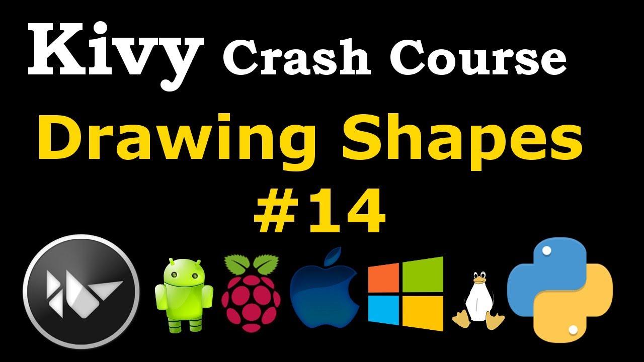 Python Kivy How to Draw Shapes