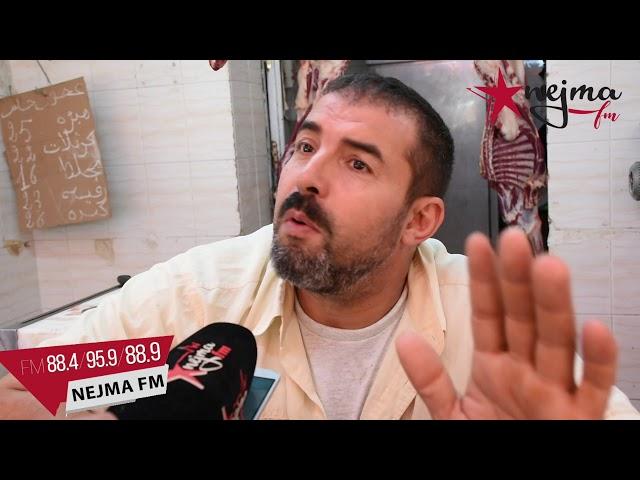 مساكن ..جزار يقتل نفسه طعنا بسكين في السوق و على مراى من حرفائه ..تفاصيل القصة