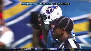 Titans vs Chargers 2012 Week 2