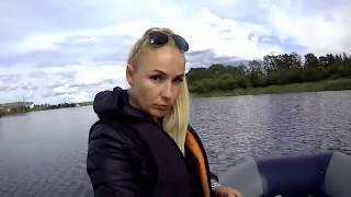 ЛЕТО ЯГОРБА РЫБАЛКА СПИННИНГ Наша городская река