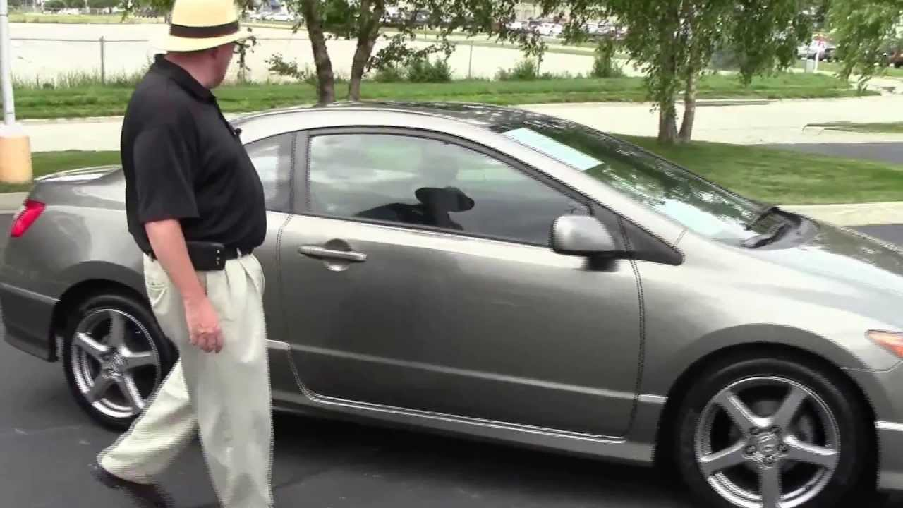 Used 2007 Honda Civic EX Coupe For Sale At Honda Cars Of Bellevue...an  Omaha Honda Dealer!
