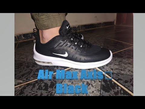 desencadenar parrilla granero  Nike Air Max Axis Premium 'wht/purple/blue fury' | ON FEET | fashion shoes  | 2019 - YouTube