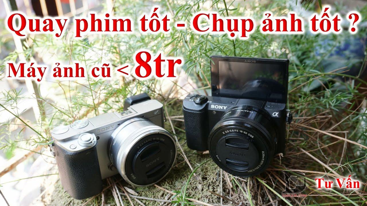 [Máy ảnh cũ ~7tr quay vlog] – Sony A5100 hay Sony A6000 Quay phim tốt, chụp ảnh tốt cho các bạn ?