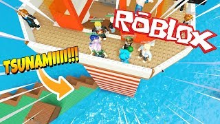 WOULD YOU SURVIVE a MORTAL TSUNAMI IN ROBLOX? 🌊 BE MILO VITA NATURAL DISASTERS