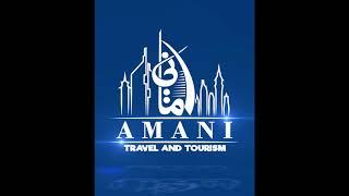 AMANI TRAVEL AND TOURISM Logo Animation🏝️😀