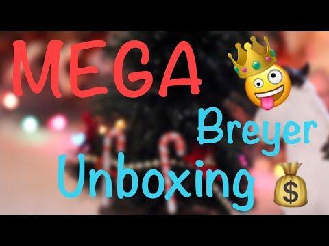 MEGA BREYER UNBOXING!!!