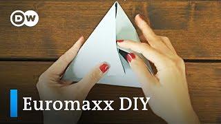 Origami als Wanddekoration | DW Deutsch