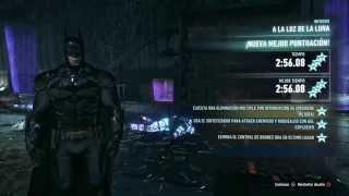 BATMAN: ARKHAM KNIGHT - desafío de RA A LA LUZ DE LA LUNA (3 estrellas)