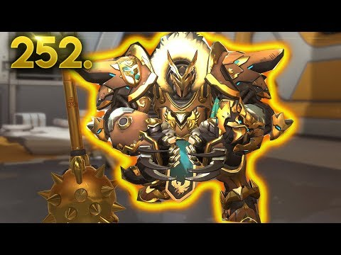 Invincible Reinhardt..!! | OVERWATCH Daily Moments Ep. 252 (Funny and Random Moments)