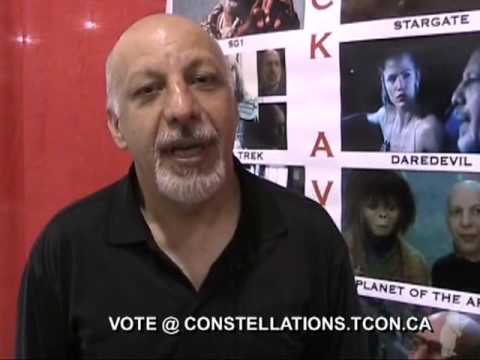Erick Avari  Just book your tickets & come to Polaris 23! Vote in the Constellation Awards!