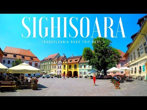 SIGHISOARA : TRANSYLVANIA ROAD TRIP PART 3 | ROMANIA