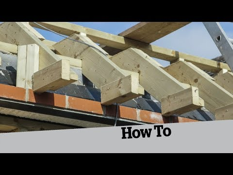 Building a Roof Truss for a Roof Lantern; How to Build an Extension (6)
